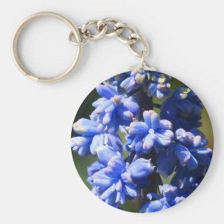 Hyacinth Muscari Armeniacum Flower Key Chain