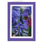 Hyacinth Persian New Year Card