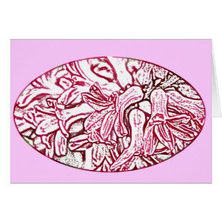 Hyacinth Pink Edited Card