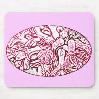 Hyacinth Pink Edited Mouse Pad