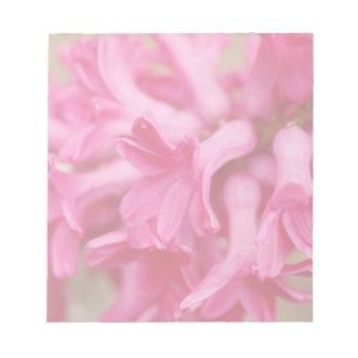 Hyacinth Pink Notepad