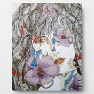 Hyacinth Plaque