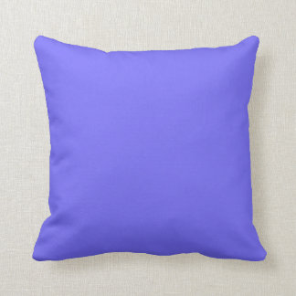 Hyacinth Purple Blue Color Trend Background Throw Pillow