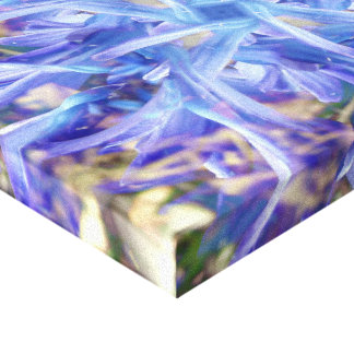Hyacinth Squared Canvas Print