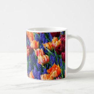 Hyacinth Tulip Garden Cotillion Coffee Mug