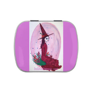 Hyacinth Witch Easter Candy Jelly Belly Tins