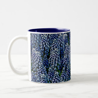 Hyacinths As Art Two-Tone Coffee Mug