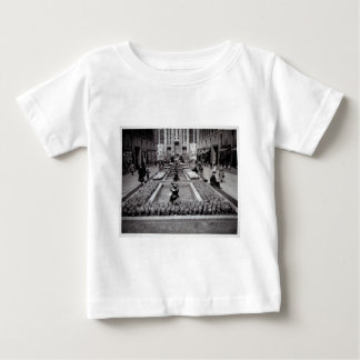 Hyacinths in Bloom Rockefeller Center 1952 NYC Baby T-Shirt