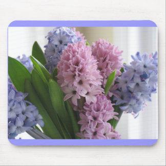 Hyacinths Mousepads