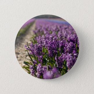 Hyacinths Pinback Button