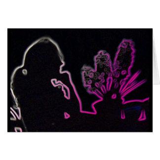 Hyacinths Shadow Card