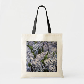 Hyacinthus 'Delf Blue' (Hyacinth) flowers Budget Tote Bag