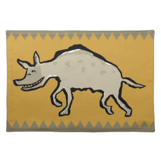hyaena cloth placemat