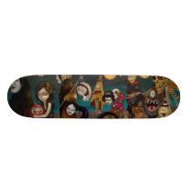 Hyakki Yako japan yokai gothic Skateboard