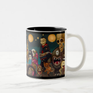 """""""Hyakki Yakō"""" Mug"""