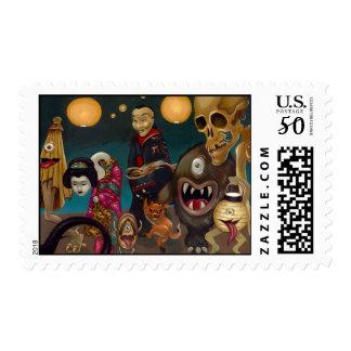 """Hyakki Yakō"" Stamp Part 2"