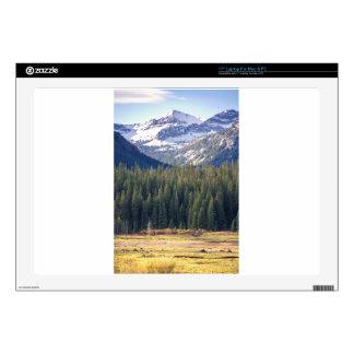 Hyalite Peaks Bozeman, Montana Decal For Laptop
