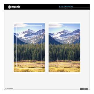 Hyalite Peaks Bozeman, Montana Kindle Fire Skins