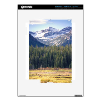 Hyalite Peaks Bozeman, Montana Skin For iPad 3
