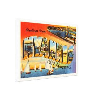 Hyannis Cape Cod Massachusetts MA Travel Souvenir Canvas Print