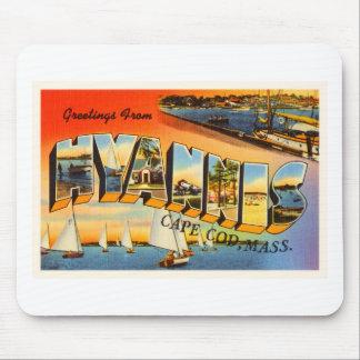 Hyannis Cape Cod Massachusetts MA Travel Souvenir Mouse Pad