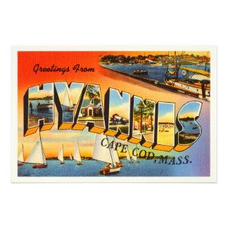 Hyannis Cape Cod Massachusetts MA Travel Souvenir Photo Print