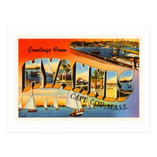 Hyannis Cape Cod Massachusetts MA Travel Souvenir Postcard