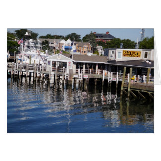 Hyannis Harbor, Cape Cod Card
