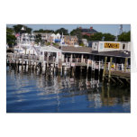 Hyannis Harbor, Cape Cod Greeting Card