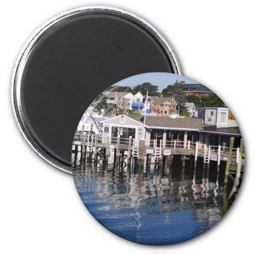 Hyannis Harbor, Cape Cod Refrigerator Magnets
