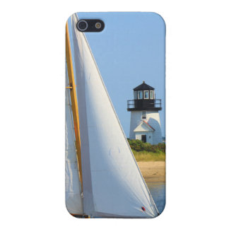 Hyannis Harbor Lighthouse Sailboat Cape Cod Cover For iPhone SE/5/5s