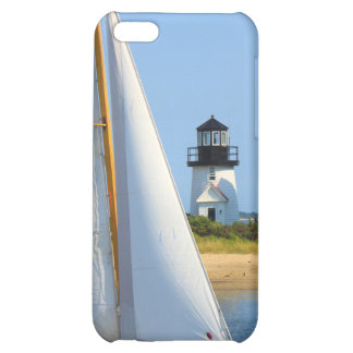 Hyannis Harbor Lighthouse Sailboat Cape Cod iPhone 5C Cover