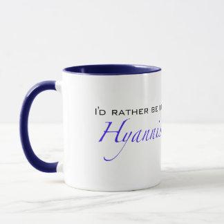 Hyannis MA - Script Mug