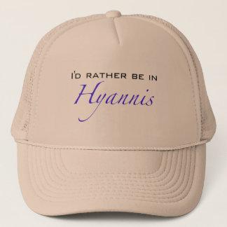 Hyannis MA - Script Trucker Hat