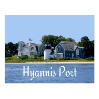 Hyannis Port  Massachusetts, Cape Cod Postcard