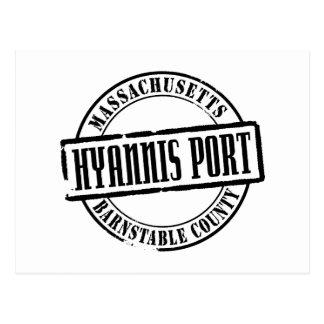 Hyannis Port Title Postcard