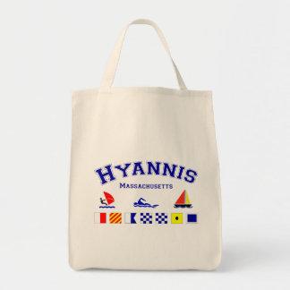 Hyannis Signal Flag Tote Bag
