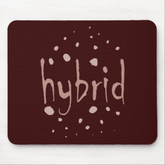 Hybrid alien cross breed mixed race new species mouse pad