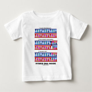 Hybrid DNA Inside (Recombinant DNA) Baby T-Shirt
