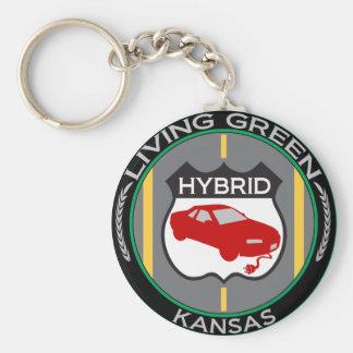 Hybrid Kansas Keychain