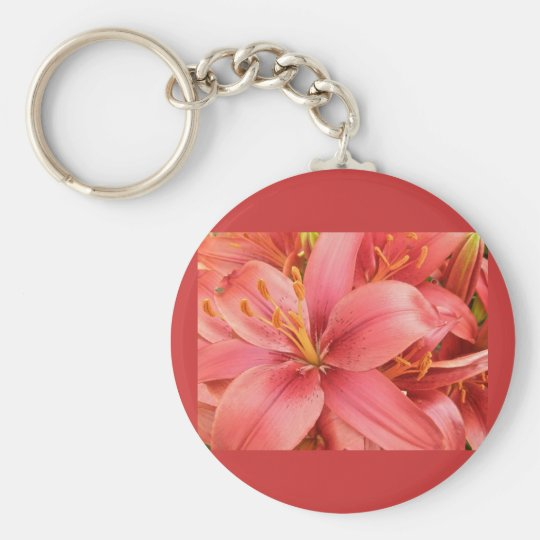 Hybrid Lilies Coordinating Items Keychain