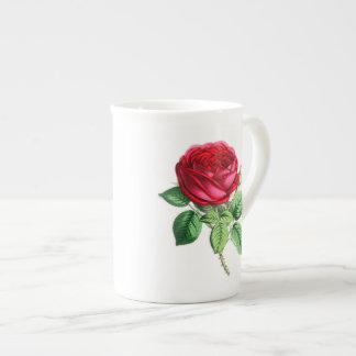 Hybrid Perpetual Rose - Napoleon III Tea Cup