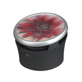 Hybrid sunflower blowing in the wind bluetooth speaker