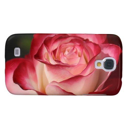 Hybrid Tea Rose Samsung Galaxy S4 Cases