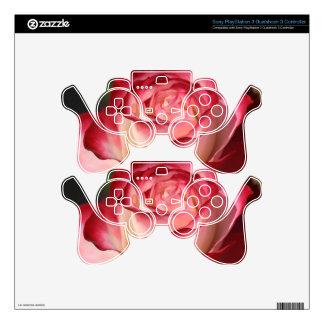 Hybrid Tea Rose Skin For PS3 Controller