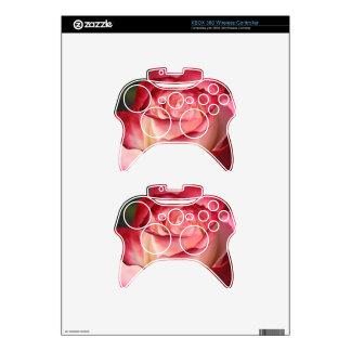 Hybrid Tea Rose Xbox 360 Controller Skins