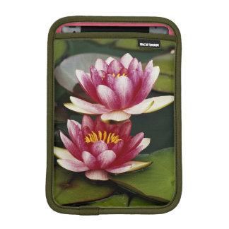 Hybrid water lilies iPad mini sleeves