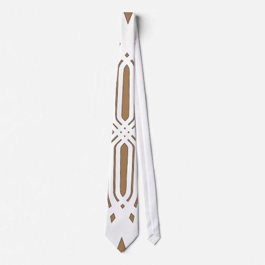 Hybrid White (Tan) Tie