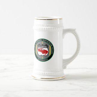 Hybrid Wyoming Beer Stein
