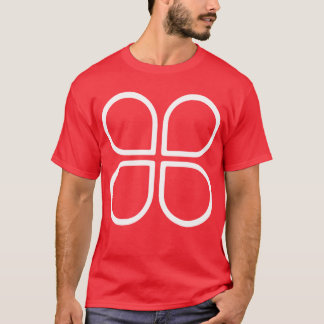 HybridClover Logo with URL on Back T-Shirt